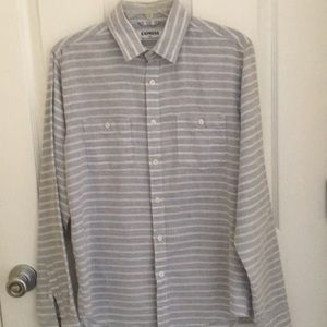Express Men's Casual Button-down Shirt Size Small